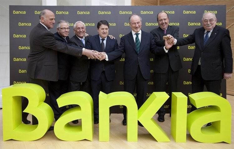 Constitución de Bankia