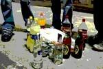 Botellón en el barrio de Marxalenes