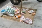 Calles sucias en Valencia