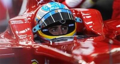 Fernando Alonso, cortesía de f1alonso.com