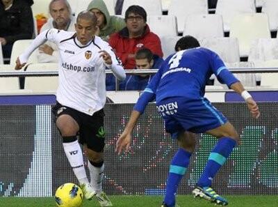 Feghouli marcó por partida doble en el Valencia CF – Getafe CF