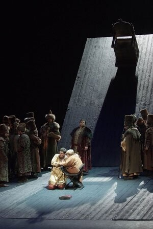Ensayo General de Boris Godunov en el Palau de les Arts Reina Sofía