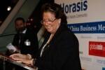 Rita Barberá en la inauguración de Horasis