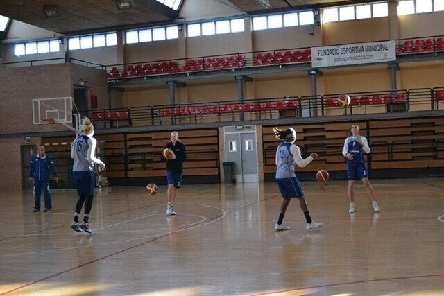 Ciudad Ros Casares ha regresado esta mañana a los entrenamientos (2)