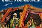 Los niños valencianos entregan su carta a los Reyes Magos en la jaima de BIOPARC Valencia