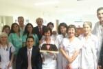 José María del Nido homenajea a enfermería de La Fe