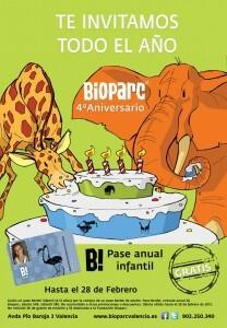 4 aniversario Bioparc Valencia