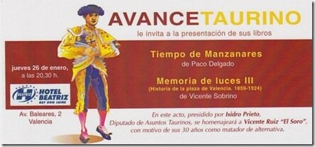 AVANCE TAURINO