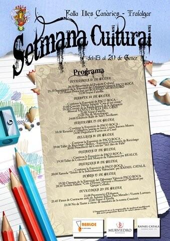 cartel semana cultural ictrafalgar