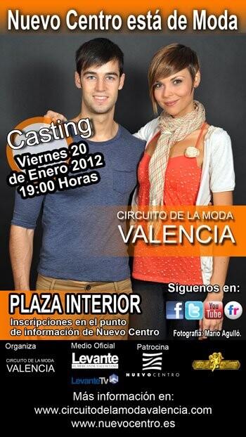 Casting del Circuito de la Moda Valencia en Nuevo Centro