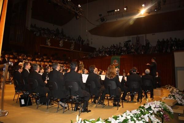 La Banda Municipal de Valencia, en la Exaltación 2012