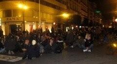 manifestacion ante las cortes