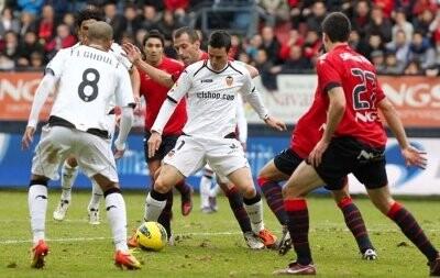 Osasuna - Valencia, 1-1