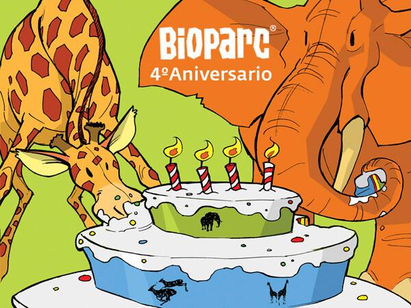 7000 personas celebraron con Bioparc su 4º aniversario