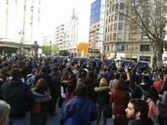 IES Lluis Vives. manifestacion. 17 de febrero 3