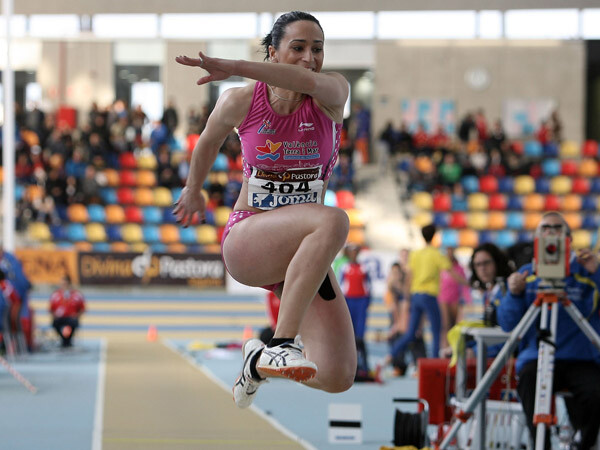 Patricia Sarrapio en el Campeonato de España de Sabadell