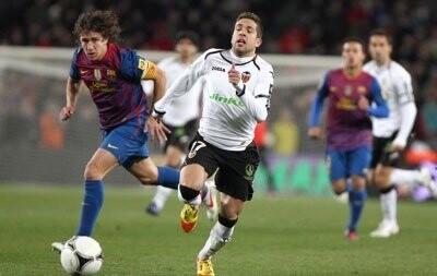 Barça - Valencia 2-0, Copa del Rey