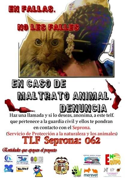 La Merced conciencia sobre la protección a las mascotas en Fallas