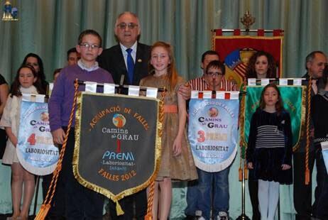 Camins al Grau celebró su Gala de Estandarte y Muestra de Playbacks 2012