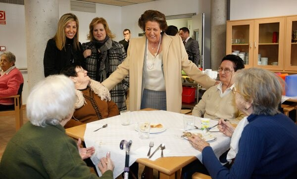 Rita Barberá inauguró el Centro de Día Alquería La Purísima