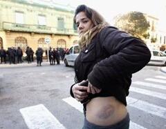 IES Lluis Vives. Manifestacion. 17 de febrero 8