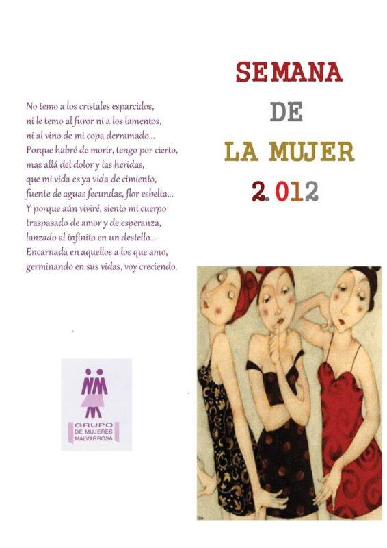 Semana de la mujer 2012