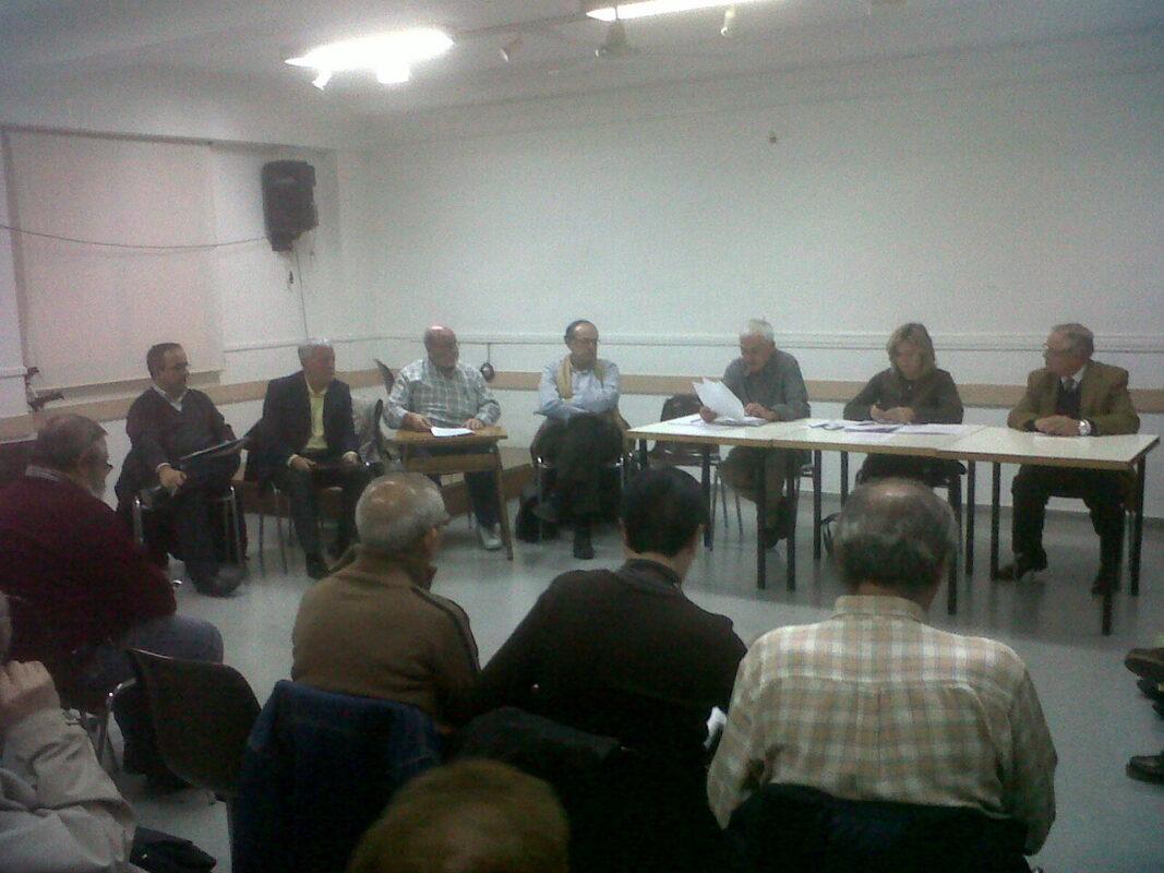 Pleno del Consejo de Tránsits en la reunión de diciembre de 2011