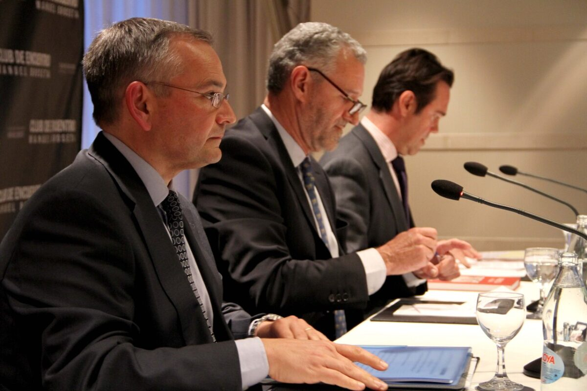 Josep Vicent Boira en la charla del Club de Encuentro