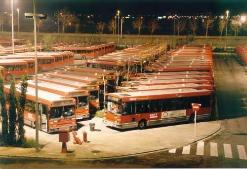 Cocheras de la EMT en Valencia