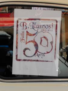 50 aniversario de la Falla Llamosí