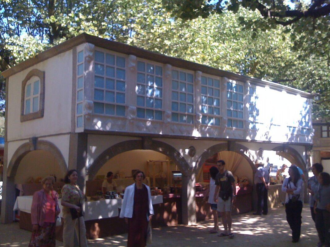 Vista de una de las casetas tematizadas del anterior festival