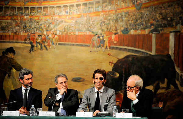 Homenaje de la Diputación de Valencia a José Padilla
