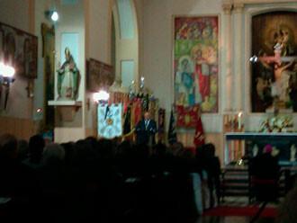 Pregón de Lledó en la Semana Santa Marinera 2012