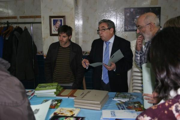Paco Roca, entre los miembros del Jurado de los Premios Ortifus