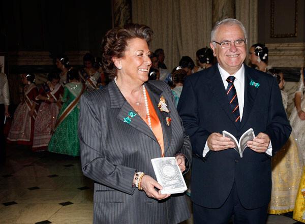 Rita Barberá y Juan Cotino conmemoran la Constitución de 1812, la Pepa