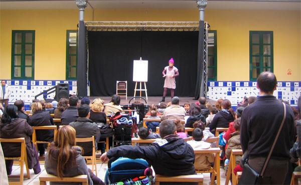 Teatro infantil en la Beneficència