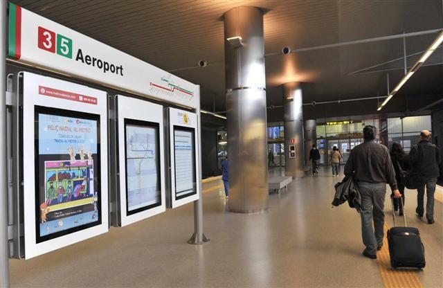 Estación aeropuerto, nuevas puertas