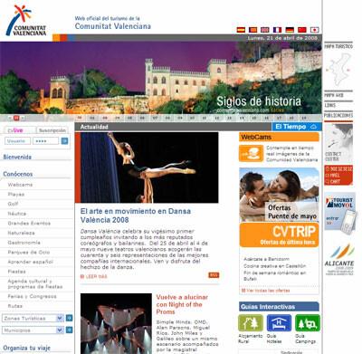 Portal de Turismo de la Comunitat Valenciana