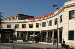Fachada Principal del Hospital General de Valencia