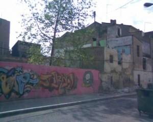 Calle San Pedro en el barrio del Cabanyal
