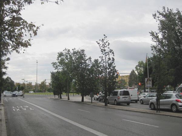 Calle General Elío, en Valencia
