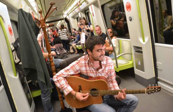 Cantautors al metro - David Moya