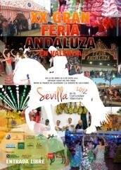 Cartel oficial de la XX edición de la Feria Andaluza dedicada a Sevilla