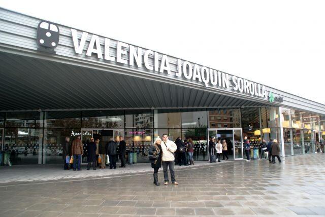 Estación AVE Joaquín Sorolla
