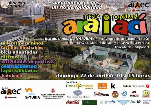 Cartel del evento que tendrá lugar el domingo en NaTuria