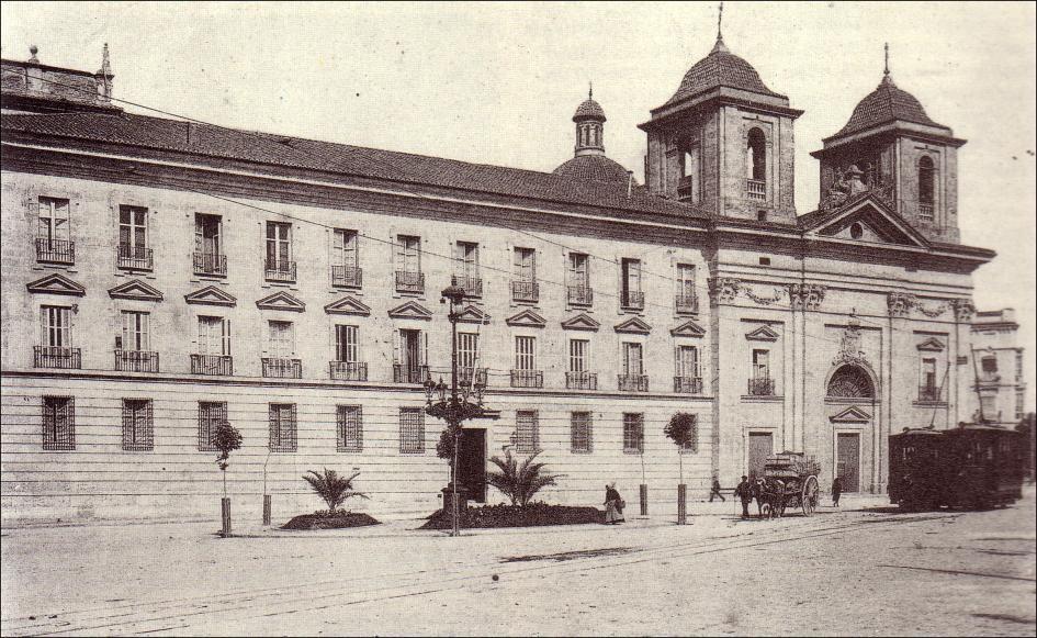 El Palacio del Temple en una imagen de hace años