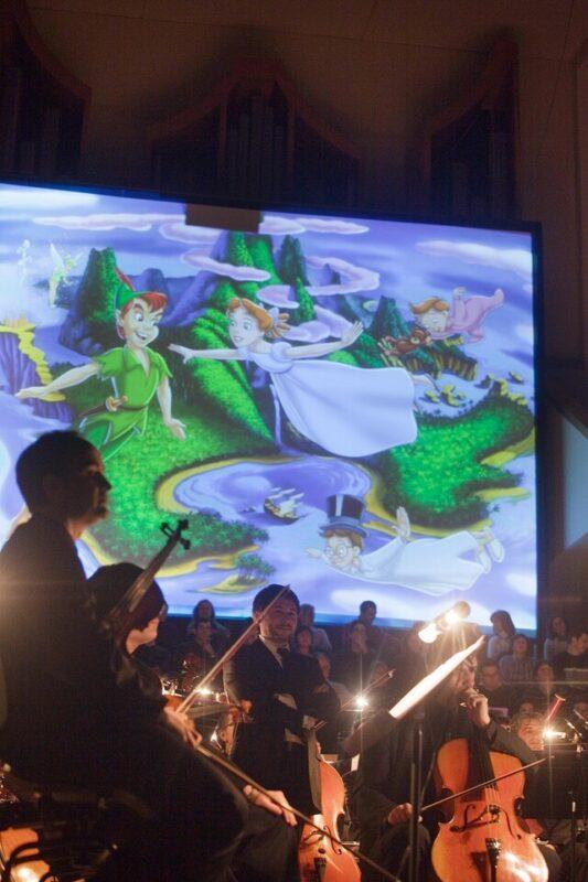 Espectáculo de Peter Pan en el Palau