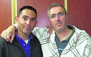 Alejandro Santaeulalia y Vicente Llácer