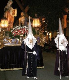 Paso de la Santa Faz de Mariano Benlliure que saldrá en el Entierro a los dos días de declarar la Generalitat el 2012 año Benlliure