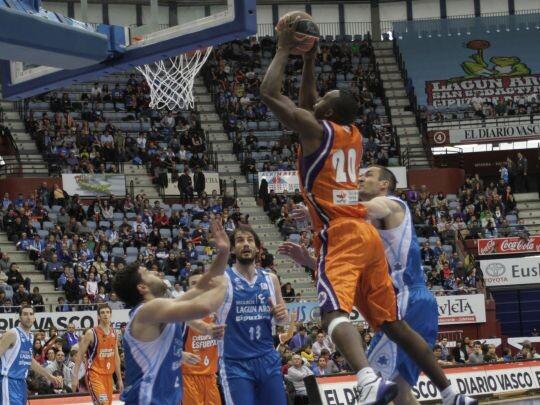 Valencia Basket. Lagun Aro